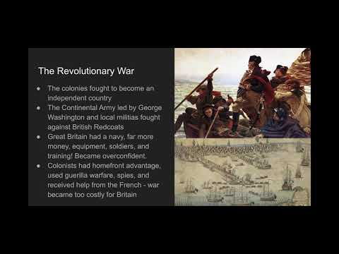 U.S.  History Regents Review Unit 1 Pt. 3
