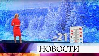 В конце февраля в Центральную Россию приходят настоящие морозы.