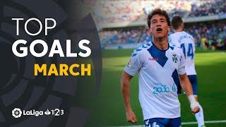 TOP Goles Marzo LaLiga 1 2 3 2018/2019
