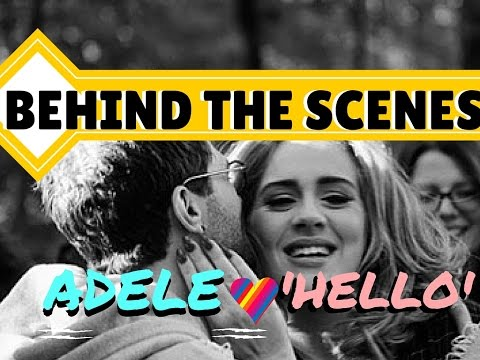 ★ ADELE: 6 BEHIND THE SCENES FASCINATING FACTS FROM THE 'HELLO' MUSIC VIDEO ★