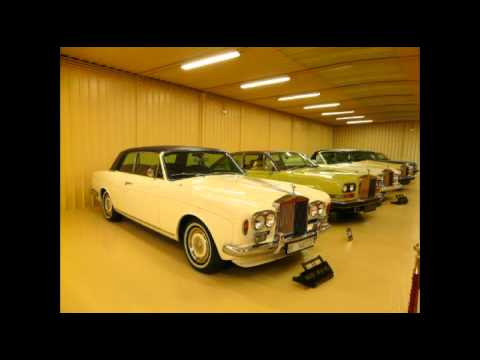 ... colección Rolls Royce. The largest Rolls Royce collection - YouTube