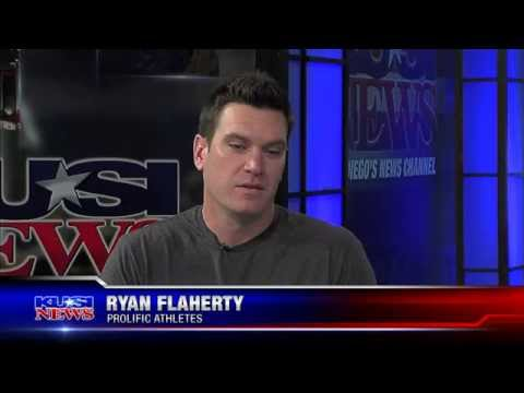 Ryan Flaherty of Prolific Athletes on KUSI