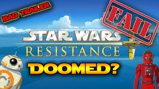 Star Wars Resistance DOOMED TO FAIL? Star Wars Podcast With Lethal Lightning!