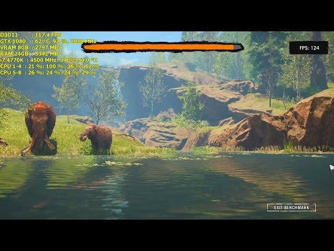 Far Cry Primal Benchmark / 1080p 1440p & 4K / i7 4770K GTX 1080 Founders Edition