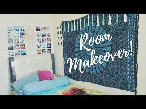 Makeover Kamar Kosan Simple | DIY Extreme Room Makeover | Dindaussmi Mp3