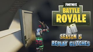 Fortnite Battle Royale Replay Saison 5 Glitches