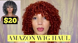 Affordable Wig Haul ( $20 Amazon Wigs & More )