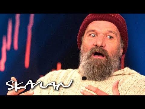 «The Iceman» Wim Hof Explains How Cold Water Healed Him | SVT/TV 2/Skavlan