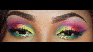 take me to brazil make up tutorial using bh cosmetics take me to brazil palette