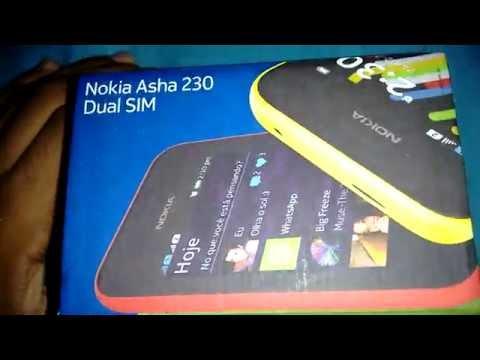 Nokia Asha 230 - Umboxing HD ^^