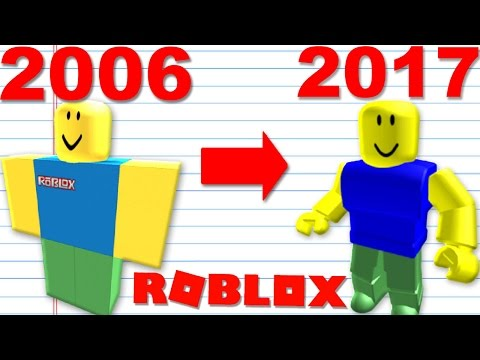THE EVOLUTION OF ROBLOX