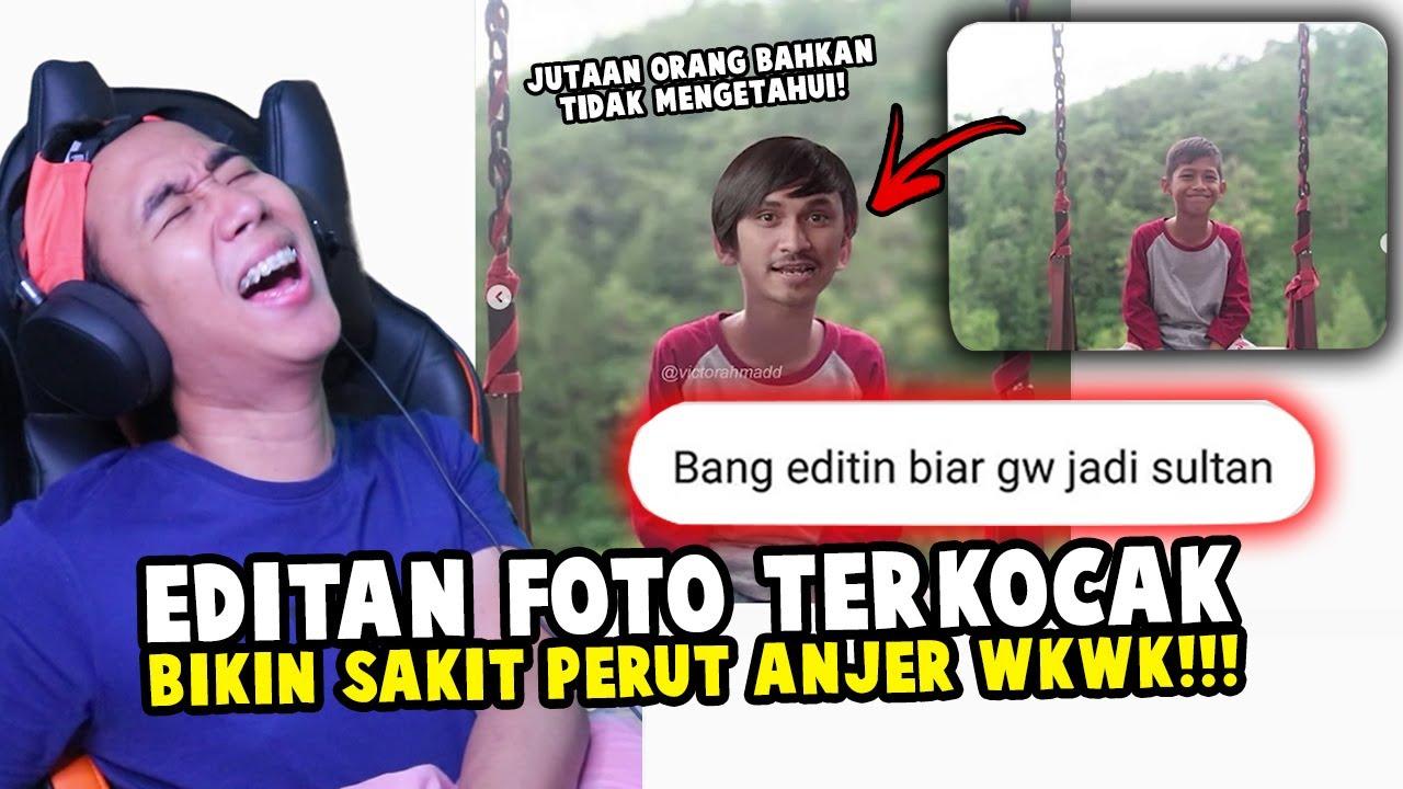 EDITAN FOTO KOCAK MALAH JADI LUCU SEMUA NGAKAK PARAH