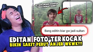 EDITAN FOTO KOCAK MALAH JADI LUCU SEMUA! NGAKAK PARAH!!!