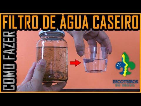 Filtro de Água de Sobrevivencia -JOTI (Escoteiros) - UEB