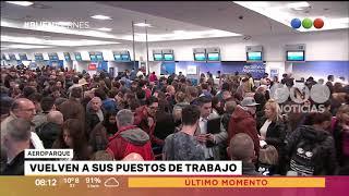 Conflicto en Aeroparque – Buen Telefe