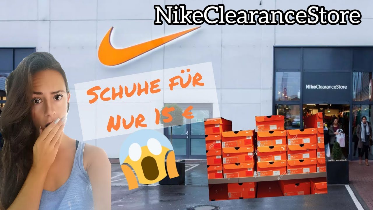 official photos big discount competitive price Nike Clearance Store in Kerpen / lohnt es sich? Oktober 2019 Herbst | Mary  Jano