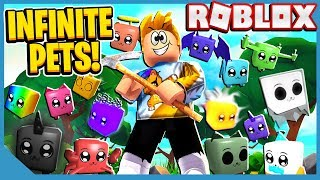 I Equipped 70 Pets & Broke The Game! Roblox Pet Mining Simulator