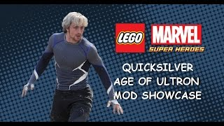 LEGO Marvel PC Mod - Quicksilver Age of Ultron Movie Variant