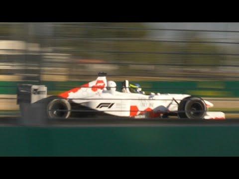 2018 Australian Grand Prix V10 Two-seater Binaural Audio (wear headphones)