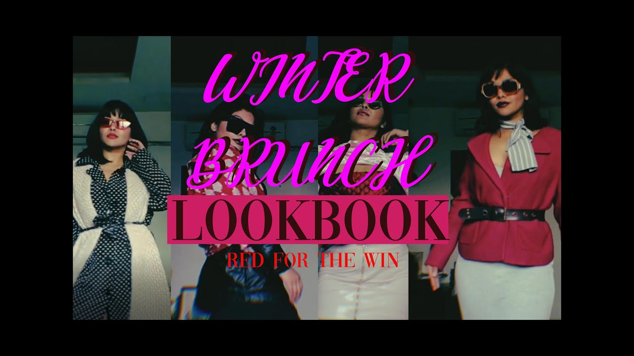 [VIDEO] - WINTER STYLE LOOKBOOK | QUICK AND EASY! *hijacked my parent's wardrobe for this* 2