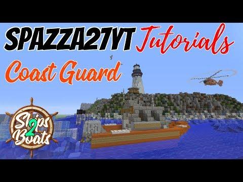 Minecraft Coast Guard Boat Tutorial