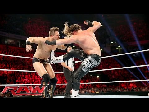 Dolph Ziggler Vs. The Miz - WWE World Heavyweight Championship Tournament: Raw, November 9, 2015