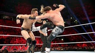 Dolph Ziggler vs. The Miz - WWE World Heavyweight Championship Tournament: Raw, November 9, 2015