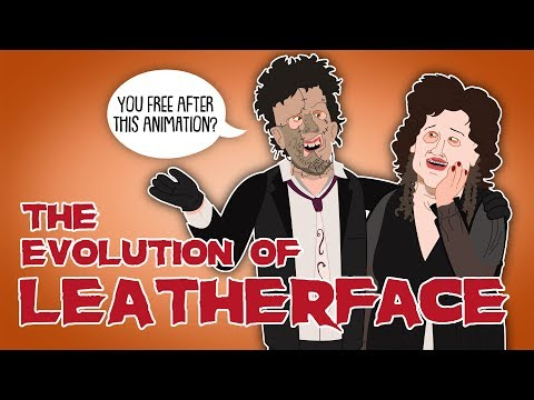The Evolution of Leatherface (Animated)