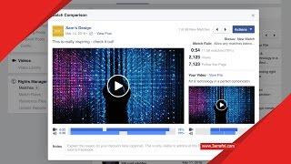 طريقة الحصول علي خاصية video Rights Manager في الفيسبوك لمنشئ الفيديوهات - عرفني دوت كوم