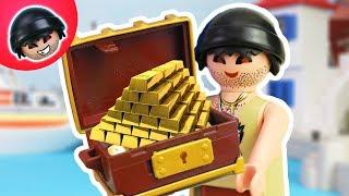 KARLCHEN KNACK - WOW! Ein riesiger Schatz?! Playmobil Polizei Film #30