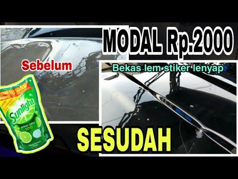 Manfaat Hot In Cream untuk Membersihkan bekas Sticker pada Motor yang membandel. Semoga Bermanfaat... #tips....