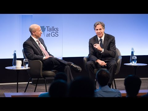 Talks at GS – Tony Blinken: Diplomacy: The First Response
