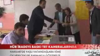 Seçmenlere BDP lilerden baskı! www.dizi7.net - Genel Seçim 2011