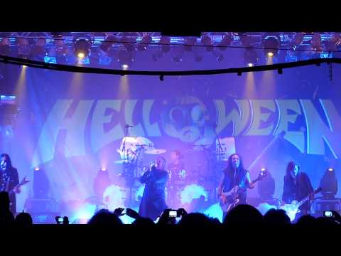Helloween - Intro Wanna Be God + Nabataea LIVE @ Hellish Tour II, Estragon, Bologna, 6 March 2013