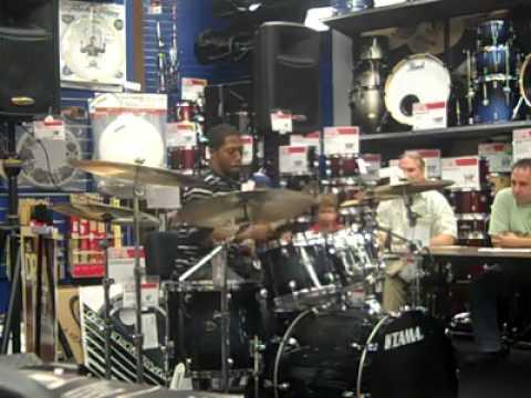 Andrew Thomas Nice drummer skills