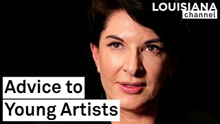 Marina Abramović: Advice to the Young