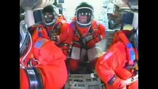Space Shuttle Atlantis - Cockpit View - Launch of STS 122