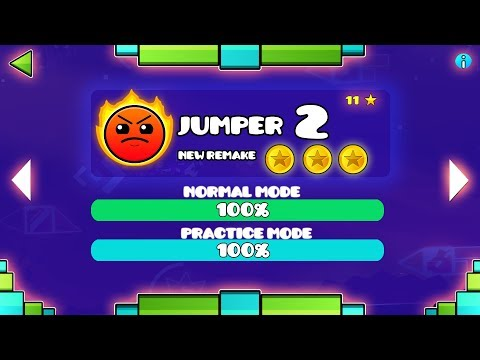 NEW JUMPER REMAKE!! -JUMPER 2 - GEOMETRY DASH 2.11