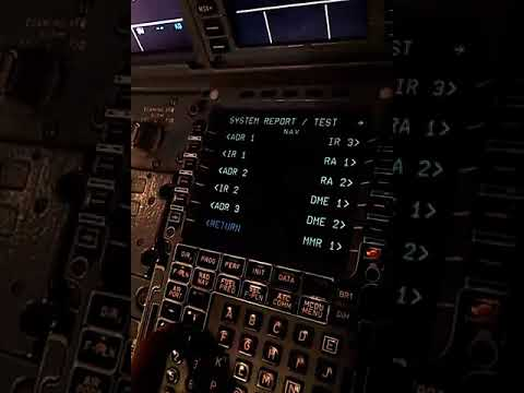 How To Check CFDS From MCDU And Print PFR On Airbus A320