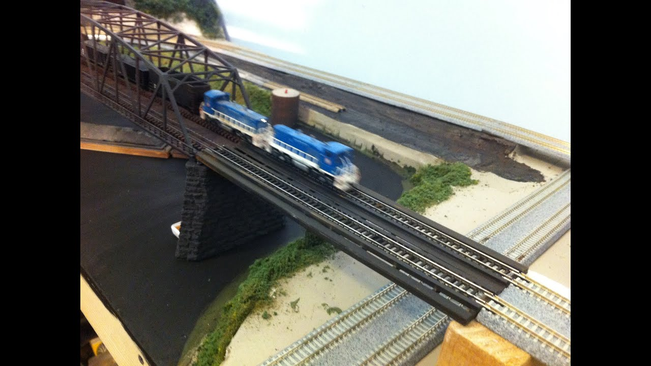 Model Railroad Make A Transition Bridge Kato Atlas Tomix Track How To Wire Switch Easy Tips