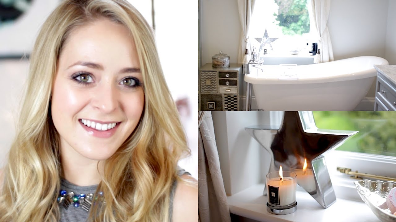 Home Tour Pt 1: New Bathroom | Fleur De Force - YouTube