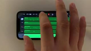 Sheck Wes - Mo Bamba on iPhone (GarageBand)