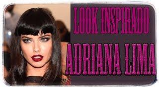Maquillaje inspirado en Adriana Lima Paso a paso