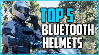 Top 5 Bluetooth Motorcycle Helmets 2018