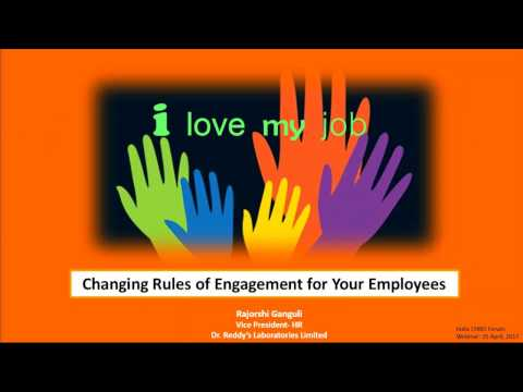 Webinar 2: Changing Rules of Engagement for Your Employees | India CHRO Forum