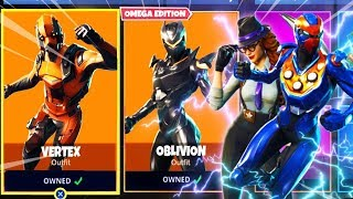 Fortnite NEW VERTEX + OBLIVION SKIN - DAILY ITEM SHOP RESET
