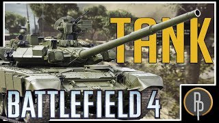 Tanks are Hard To See!! Battlefield 4 Gameplay