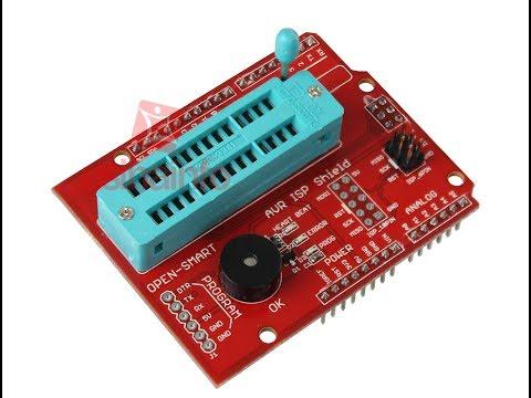 AVR ISP Shield-Grave O Bootloader Do Arduino De Forma Simples