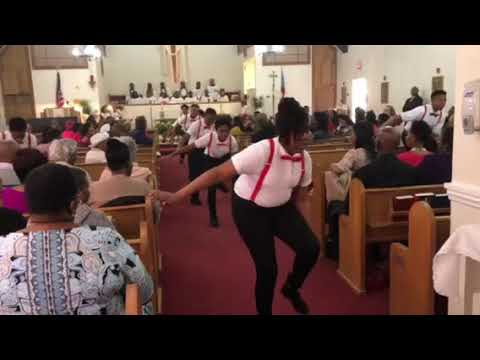 St. Mark's - Plainfield Steppers Easter 2018