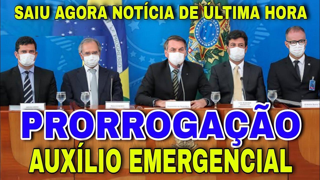 Download Acabou de Sair Novas Notícia da Prorrogacão do auxílio Emergencial/Notícia Exclusiva